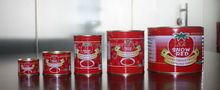 Wholesale Canned Vegetable Tomato Paste for Canned Metal Tins Canned Food