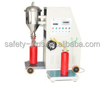 CE Standard Automatic filling machine for powder fire extinguisher