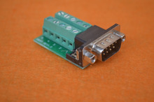 RS232 / 422 / 485 Signals Breakout Board Serial Port Header - DB9 Male / Female to Terminal Block Adapter
