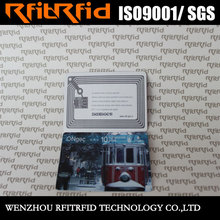 UHF Printable high temperature resistant key rfid ticket For retail supply chain management