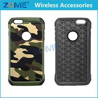 China Supplier Camouflage Hybrid Colors Tpu Case Military Mobile Phone Covers For Iphone6 4.7