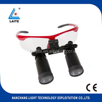 helmet loupe headband type dental loupes 5.0x 6.0x