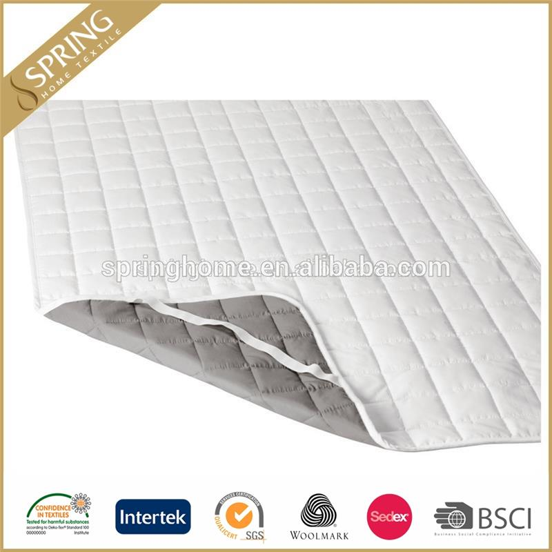 king size bed quilted waterproof pillow top mattress pads