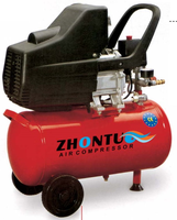 1.5HP 24L BM type small portable directly piston air compressor