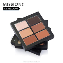 Your own brand makeup full coverage concealer palette from cosmetics vendors