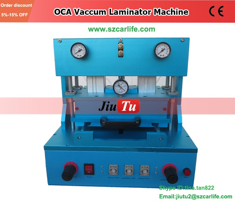 Automatic Laminator Machines High Pressure Laminate Frame Machine By Vacuum Needed Air Compressor For Smartphone Repair