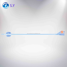 single-use 100% Silicon Foley Catheter (1-way, 2-way, three-way)