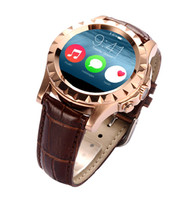 leather belt 240*240pixel IPS touch screen watch phone with heart rate monitor