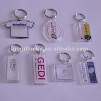 Best promotion acrylic key chain for friends