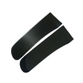 Hot sale TPU injection black rubber sleeve tab,cuff tab for outdoor