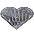 5mm fuse beads big heart pegboard for diy educational toys