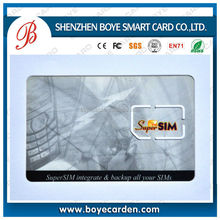 deluxe rewritable CR80 AT24C64/SLE5528 satellite receiver smart card for Pay/Access Control