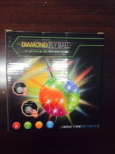 Kid Toys Shining Diamond Ball Toy Induction Flying Ball For Chrismas Gift