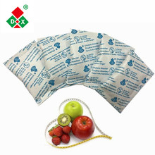 Ethylene gas absorber filter sachet for fruit and vegetables