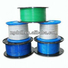 Top quality PVC Coated Galvanized Steel Cable / Wire Rope