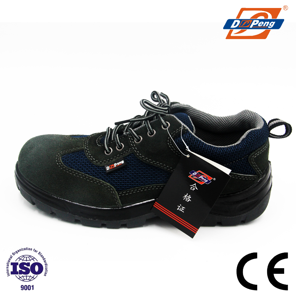 light weight shock absorption safety jogger shoes