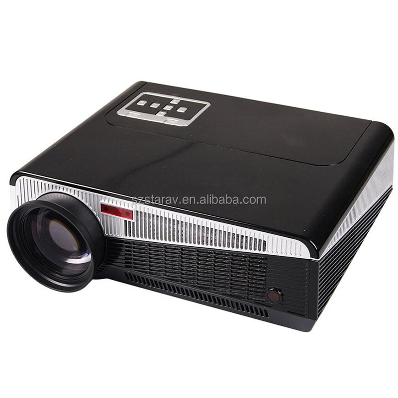 led86+ Home Theater Projector with android system 4.4 WIFI bluetooth pc ATV beamer support 1080P1280*800 led video proyector