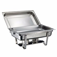 Economic Stainless Steel Buffet Take Out Cover Outdoor Catering Equipment