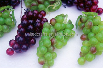 Customized decorative artificial grapes fruit