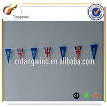 Best Prices unique design cheap pe sport fan cheering string banner flag