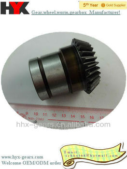 top quality new type high precision cnc machining metal straight bevel gear