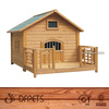Dog House with Porch DFD004