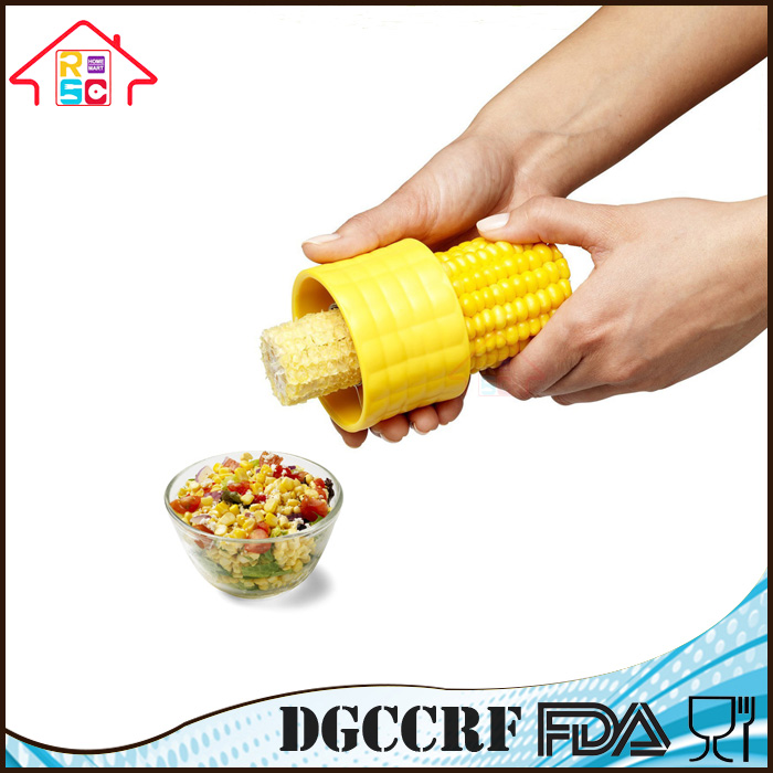 NBRSC Kitchen Vegetable Corer Tool Stainless Steel Blade Corn Cob Stripper