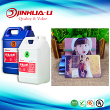 Professional Custom 2 Part AB Resin Epoxy Glue For Magnetic Crystal Plastic refrigerator Stickers,DIY Wedding Photo Frame