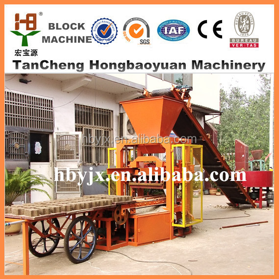 alibaba express! QT4-30B Vibrator Concrete Block Making Machine