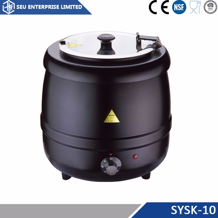 High quality warranty electric large soup kettle/pot/warmer