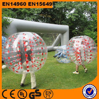 2015 adults 1.5m half color tpu bubble soccer bubble ball