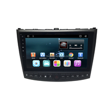 10.2 inch Android car dvd player for Lexus IS250 gps navigation with car multimedia with Bluetooth/3g/wifi/TPMS
