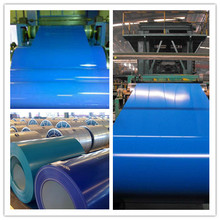 Light weight colour coated roofing steel sheet