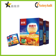 2015 Best price accept custom surface UV professional cereal box packaging