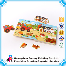 Wholesale Custom Recycled Children Animal Board Paper Activity Books
