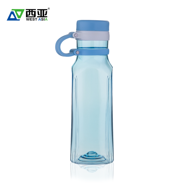 China manufacturer bpa free unique square water container oem rectangular 550ml plastic drink bottle for sale