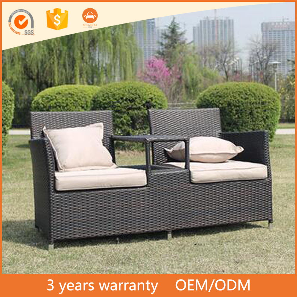 High Quality Hartman Outdoor Aluminium Frame PE Rattan Sofa Set Garden Line Patio Furniture