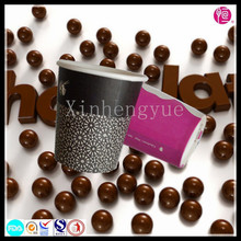 China Manufacturer Black Coffee Paper Cups with Lids