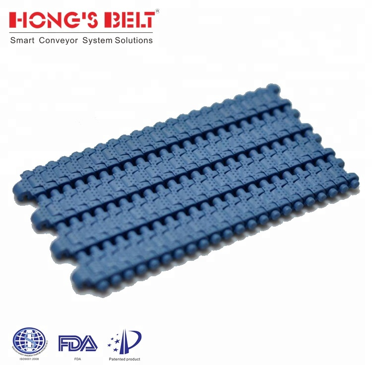 HS-4000B: HONGSBELT 2016 hot-selling world wide S-TYPE Modular Plastic Conveyor Belt with 5mm pitch
