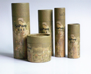 Wholesale design kraft paper packaging mailing Poster Tube with end caps