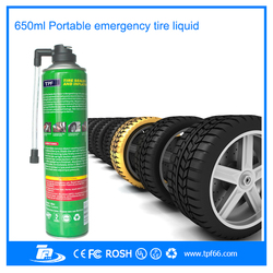 TPF new hot selling mini portable quick car emergency tire sealer and inflator