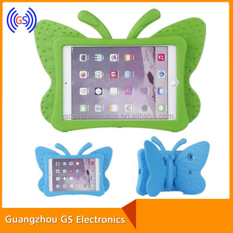 2015 Case For Ipad Mini Animal Shape Protective Case For Kids Small Plastic Case