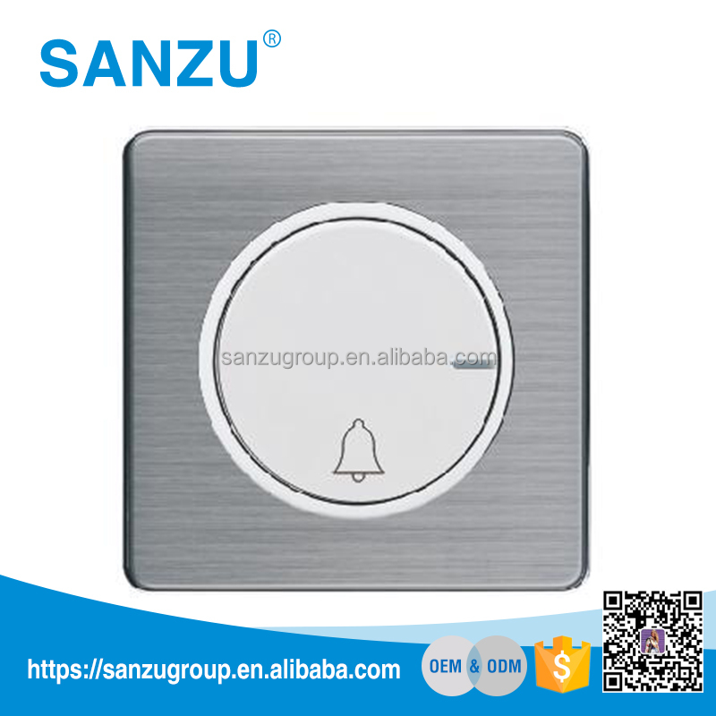 Hotel Wall Switch Doorbell Switch with don't disturb Make up room indicator