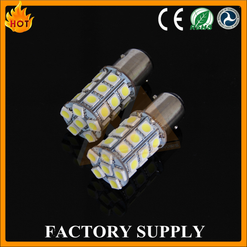 2016 Factory Supply LED Light Yellow Lamp 10w Chip 5050 Smd Auto Led Bulb