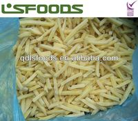 frozen IQF potato strips Grade A best price
