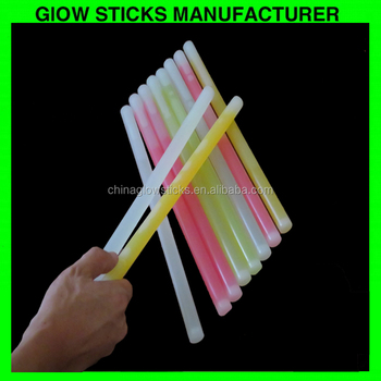 Eco-friendly flashing light up sticks concert/traffic/emergency lighting glow sticks