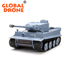 GLOBAL DRONE Heng Long 3818-1 2.4G 1/16 Alemanha Tiger Radio control Tank large scale 50cm kids toys