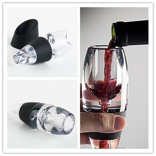 Mini Red Wine Aerator Filter, Magic Decanter Essential Wine Quick Aerator, Wine Hopper Filter Set Wine Essential Equipment