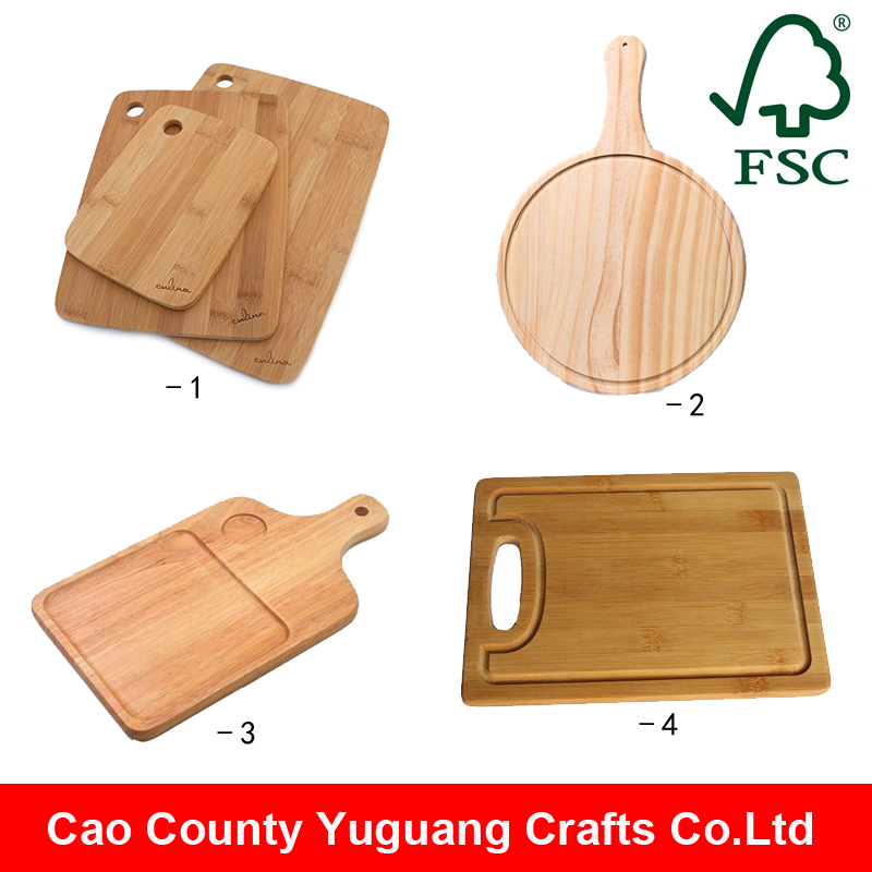 chopping block natural wood bamboo cutting board / bamboo cheese chopping board
