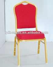 Hotel furniture stacking used wedding chair banquet hall furniture metal banquet chai